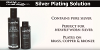 Silver Plating Solution - contains pure silver (eco-friendly)
